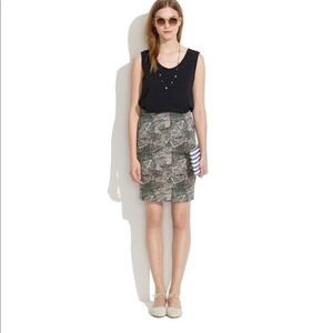 Madewell | Downtown Skirt in Batik